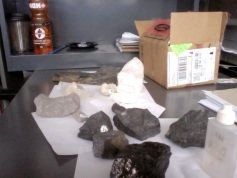 Rocks and minerals (teaching)