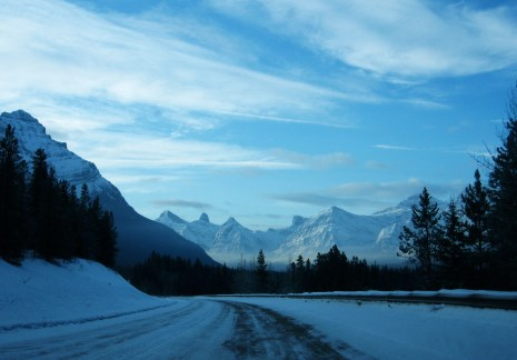 Canadian Rockies, 2007