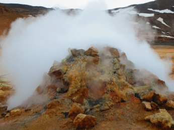 Geothermal vent, Iceland 2015
