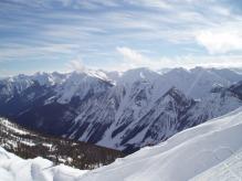 Canadian Rockies, Snowboarding tour 2007