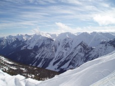 Canadian Rockies, Snowboarding tour 2007