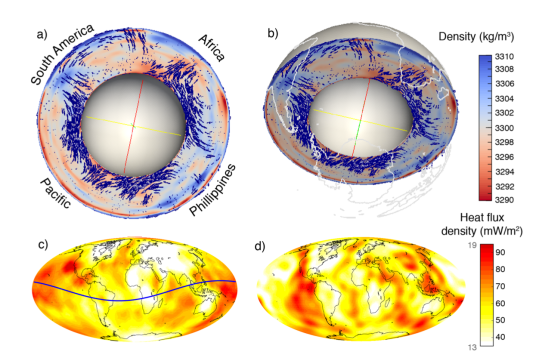 Dynamic topography from seismic input